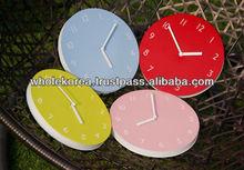 Wall clock / Interior paper wall clock / Colorful clock