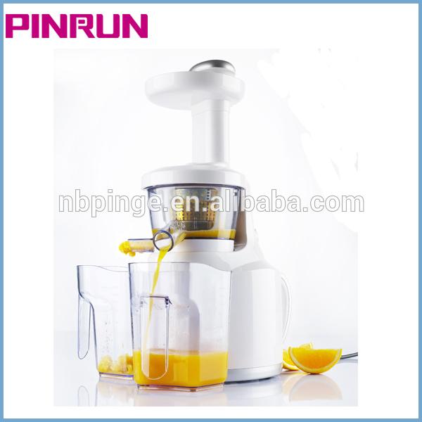 Pinrun 2013 new cold press juicer Low speed/Silence/PEI/ULTEM/Screw type
