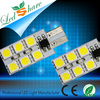 car lamp 12smd,t10 12smd 5050,led canbus car light