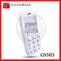 Grandes números telefones móveis para pessoas idosas com o discurso botão SOS voz ouça-in GS503