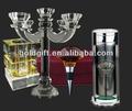 casamento candelabros de cristal
