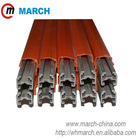 160Amp-500Amp Aluminum.Stainless steel conductor bar MARCH crane power rail