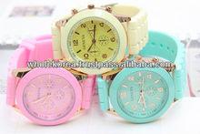Pastel watch / Basic design watch / Qute watch