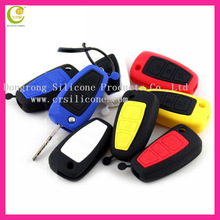 Color durable and shockproof silicone key cover for car key cover for Chery/Ford/Buick/Mazda/Toyota/NISSAN/vw custome key cover