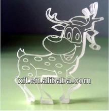 Popular Xmas ornament, acrylic Xmas gifts and crafts