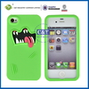 C&T funny skin cover for silicone case iphone 4
