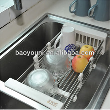 BAOYOUNI dish drying racks dish racks with drainer sink drainers 0076-1