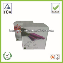 cardboard boxes for vegetable seed/Priting colour packing box/corrugated cartons