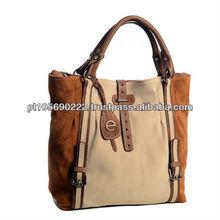 Handbag suede serie 843