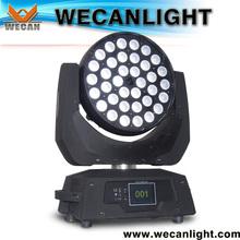 RGBW 4 in 1 10W LED led zoom 10w quad led wash moving heads 36 10w