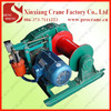 wirerope electric winch equipment, electric winch for tower