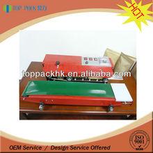 plastic bag sealer heat sealing machine/coffee bag packing machine