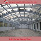 PVC lighting roof steel structure
