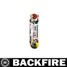 Backfire skateboard skates roller,canadian maple deck,epoxy glue