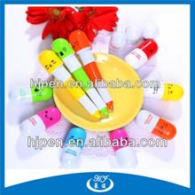 Hot Sales Pill Shape Pen For Hospital Capsule Ball Pen