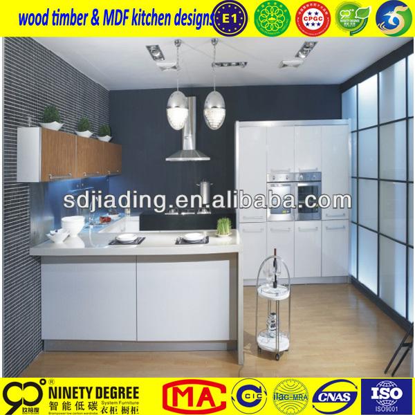 Fosan tempered glass kitchen cabinet l shape design for V kitchen philippines
