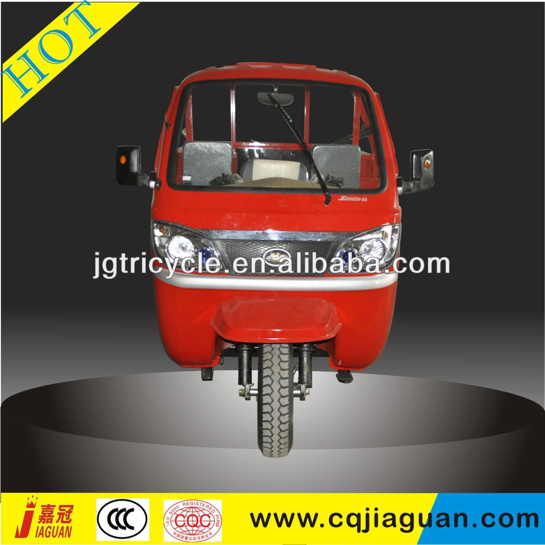 Adult rickshaw three wheel motorcycle with booth