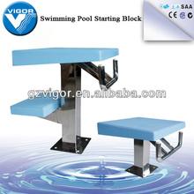 Standard Swimming Pool Starting Platform