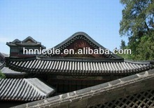 chinese garden house fiberglass spanish roofing tiles
