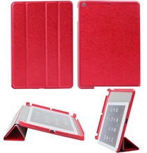 strong magnetic function smart leather case cover for ipad air