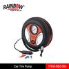 Round 12v bike tire pump