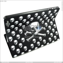 Alibaba France China Skull Pattern Leather case for ipad 2 tablet cover