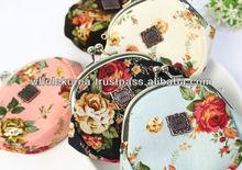 Coin purse / Flower coin purse / Quty mini pouch