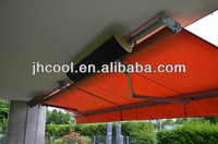 Popular in Europe, waterproof outdoor heaters