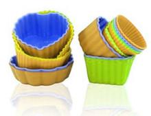 round heart shaped mini bakeware cake mould set