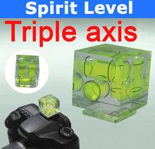 Three Axis Hot Shoe Spirit Level for Camera Canon/Nikon/Sony/Olympus