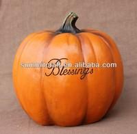 wholesale resin decorative artificial pumpkin
