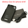 Highly Quality for iPhone 4 battery charger case Factory direct sale