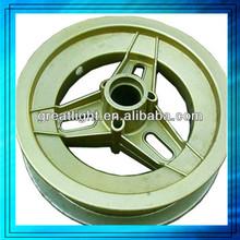 Heavy duty cast iron wheels