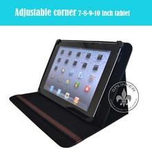 Envelop Shape Leather Belt Clip Case For iPad Leather Holder PU Cases U2901-44
