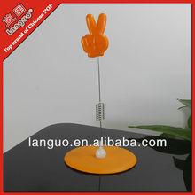 hand shaped plastic supermarket pop clip