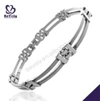 hot sell charm bracelet customized cheap skull bracelet