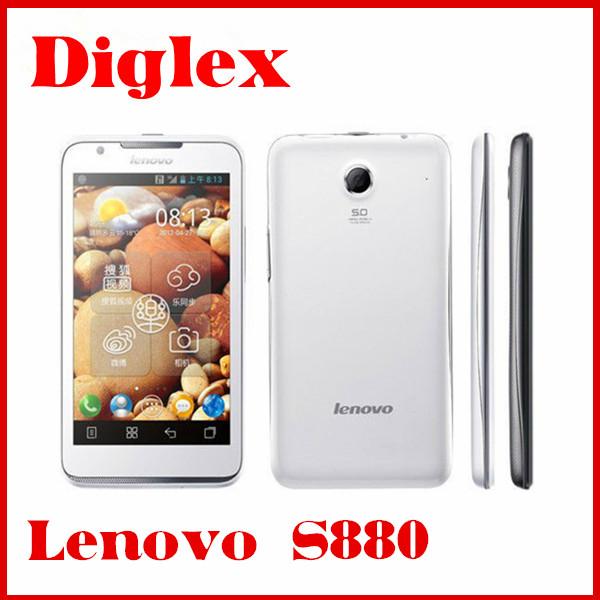"""โทรศัพท์มือถือs880เลโนโวสองซิมโทรศัพท์5.0"""" หน้าจอ512mbramdualcoreandroid4.03gโทรศัพท์มือถือจีพีเอส"""