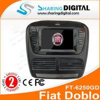 Fiat Doblo Car DVD GPS Stereo Navigation Sat Nav Radio iPod