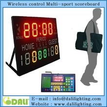 Wholesal School Using Digital Scoreboard, LED digital Scoreboard,Basketball Electronic Scoreboard