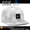 Wholesale custom fitted embroidery logo fitted hat snapback cap