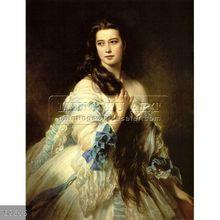 Handmade famous classic oil painting portrait on canvas, Madame Barbe de Rimsky-Korsakov, 1864
