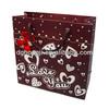 matte laminated paper shopping bag