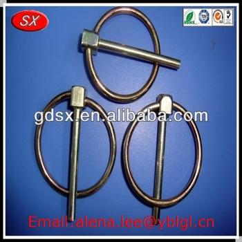 Various lock pin pipe spring,custom single pin lock,steel lock pin