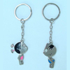 Various designs fashion long key chain