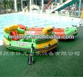 Fabricante profissional drect venda pvc barco flutuante inflável da água brinquedos/caiaque inflável