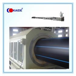 Extrusion machine to make HDPE Pipe