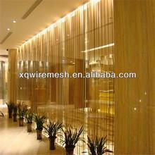 Decorative wire mesh/fireplace curtain screen