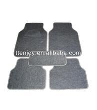 Carpet heel pad car mat