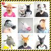 Horse Unicorn Panda Owl Animal Head Mask Creepy Halloween Costume Theater Adult