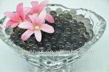 dark black crystal mud soil water soil for flower arrangement